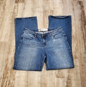 Delicious Curves by Mudd Juniors Size 17 Jeans